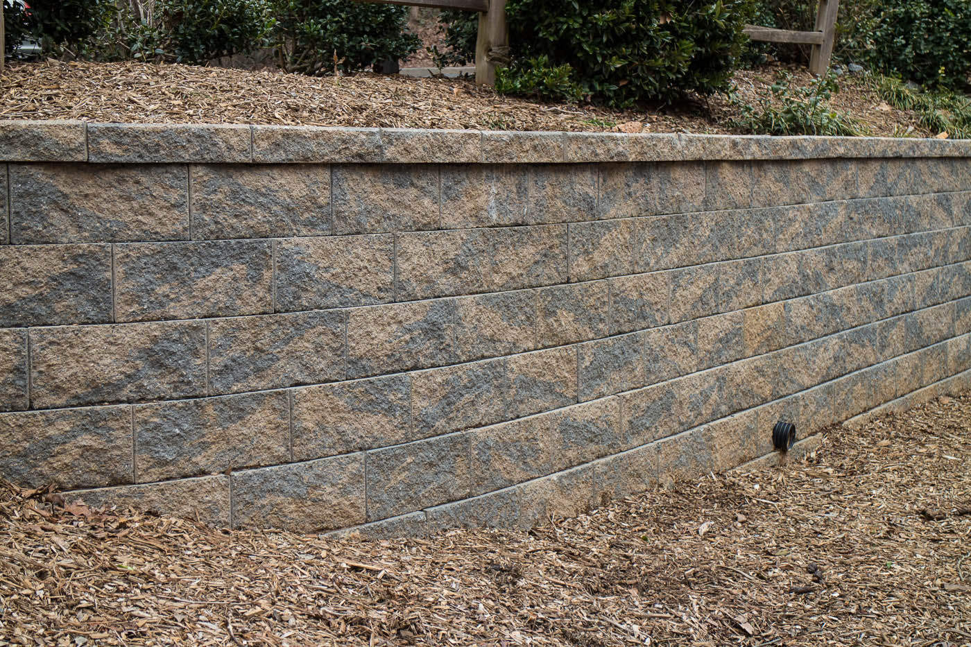 granite block wall